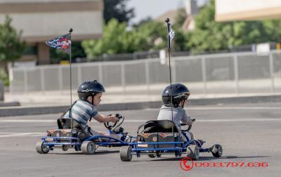 Xe điện Gokart - Ground Force Elec GoKart - 8 tuổi +