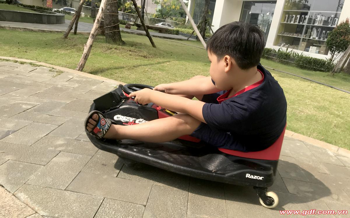 Cart shift An Thuyên