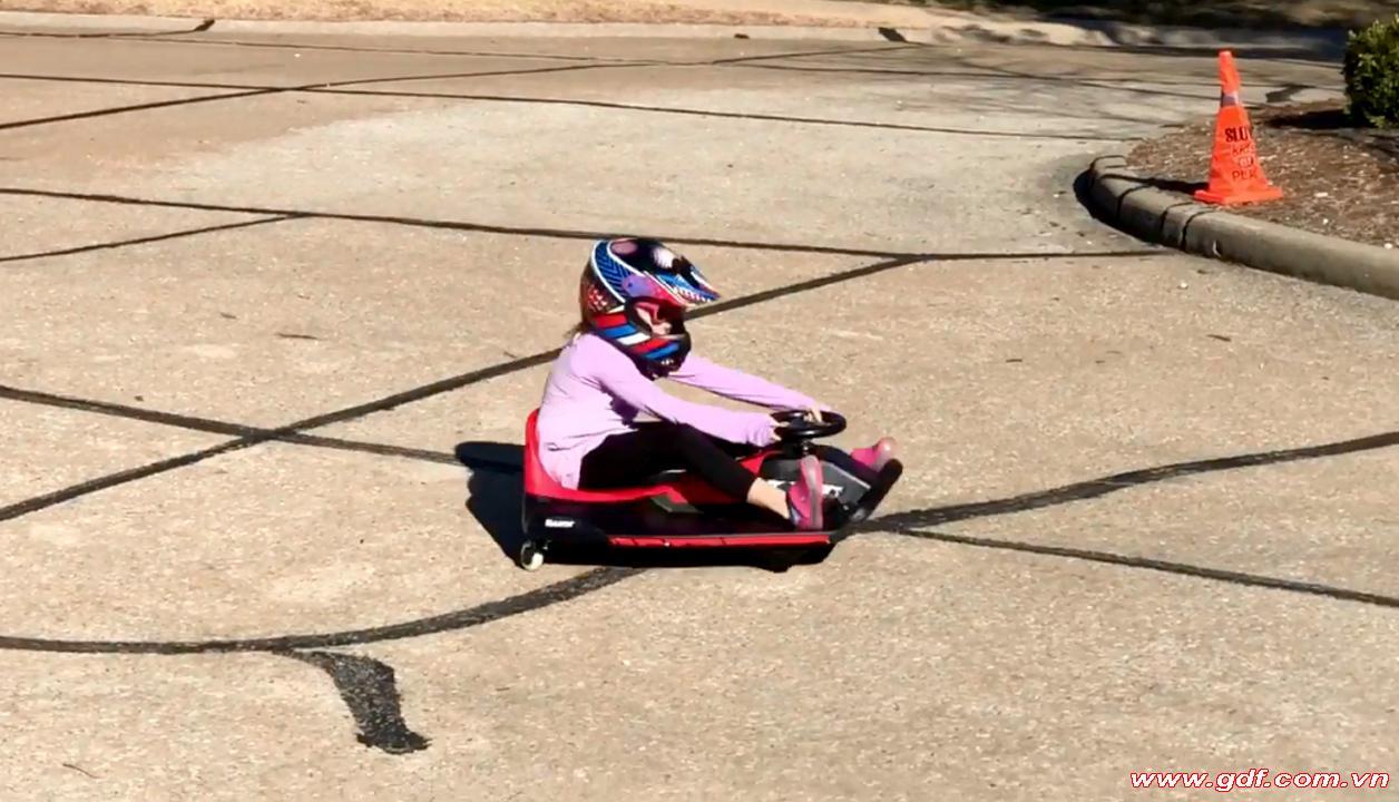 Crazy Cart shift xe điện Drift chính hãng razor Mỹ cao cấp