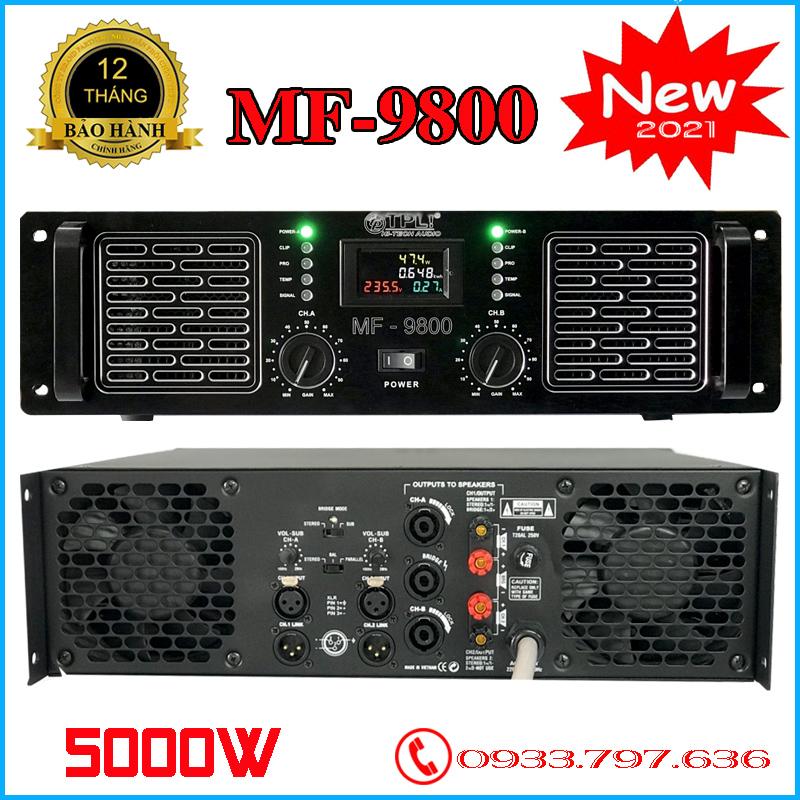 Cục Đây Amply TPL MF9800 5000W, Chất Lượng Cao, 60 Sò