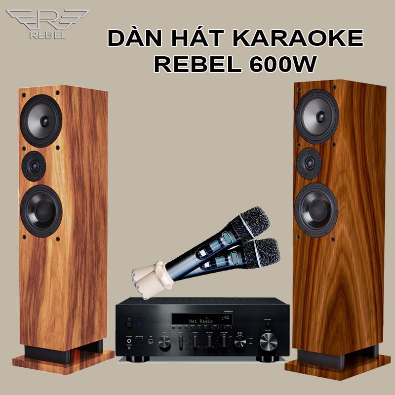 Dàn Hát Karaoke Rebel KR603 4 in 1 Độc Đáo Mới Lạ