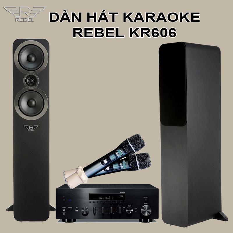 Dàn Hát Karaoke Rebel KR606 Chất Lượng Hi-Tech