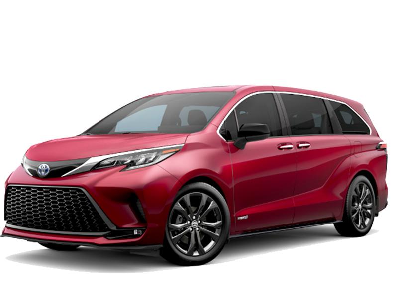 Toyota Siena Platinum 2.5L Hybrid 2021 Nhập Từ Mỹ