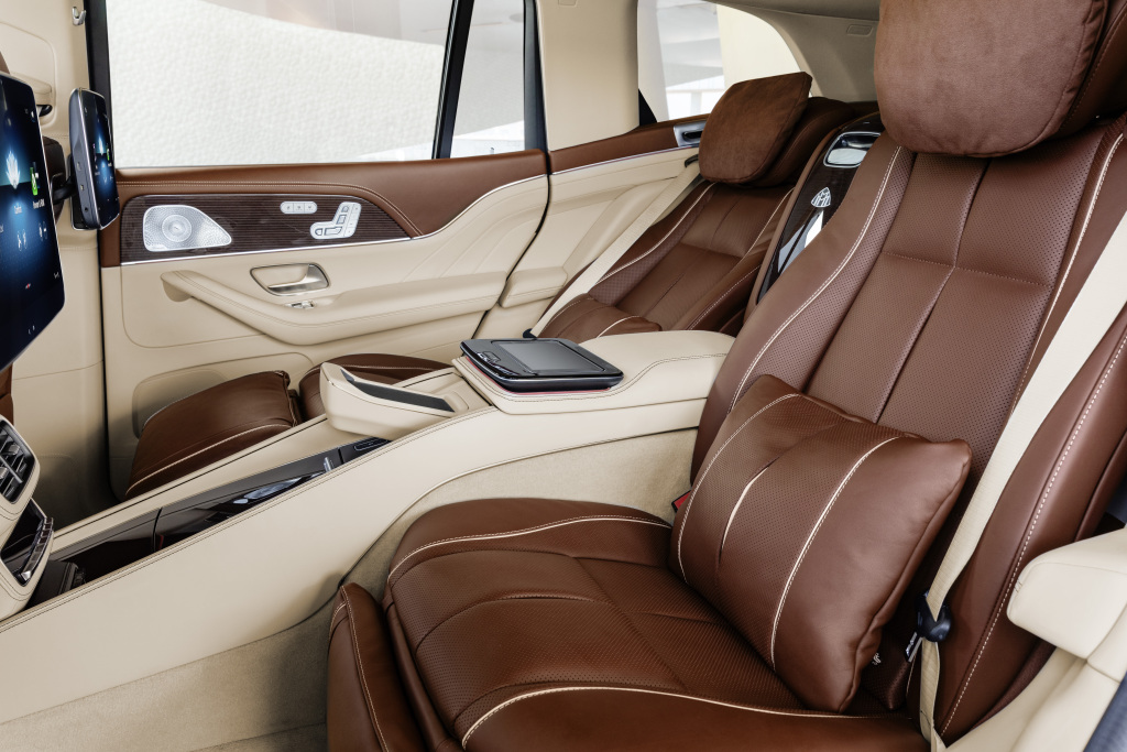 nội thất Mercedes Maybach GLS 600 4 Matic 2021