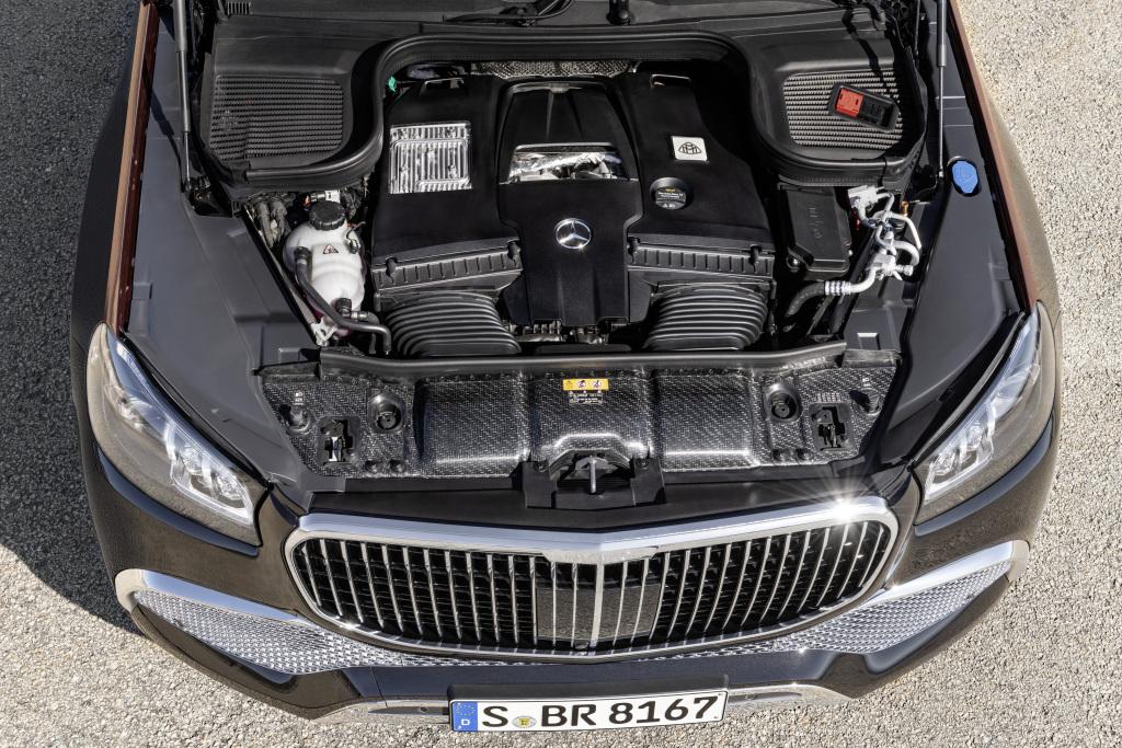 đong cơ Mercedes Maybach GLS 600 4 Matic 2021